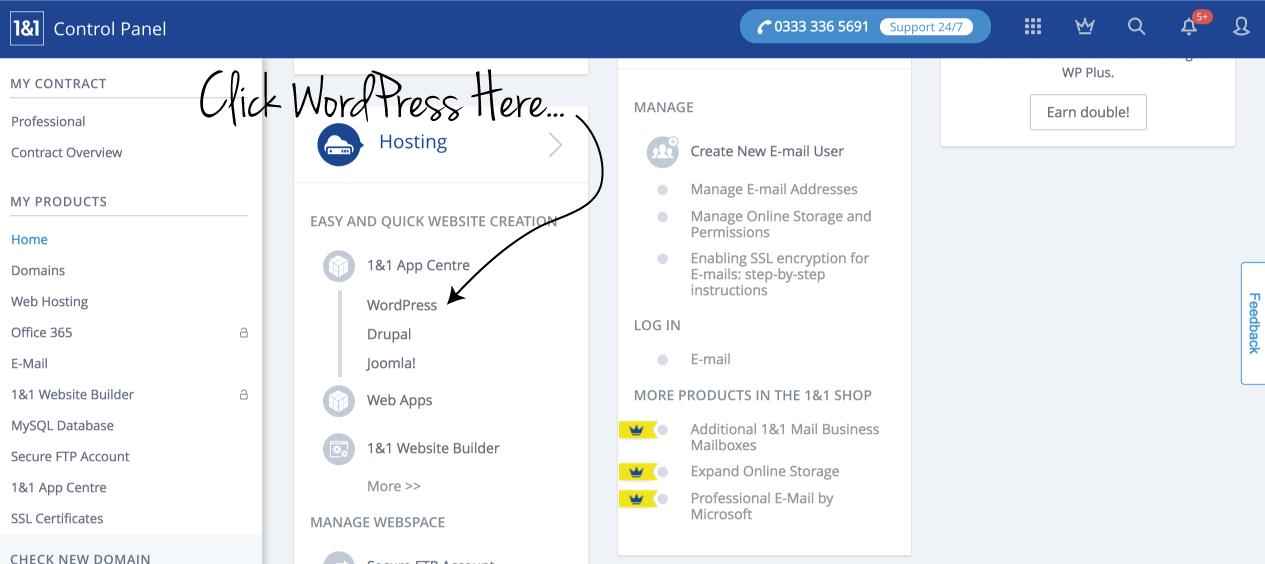 Setup a WordPress site (web hosting for ZBS CRM) – Zero BS CRM
