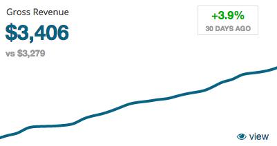ZBS Sales Metrics - Gross Revenue