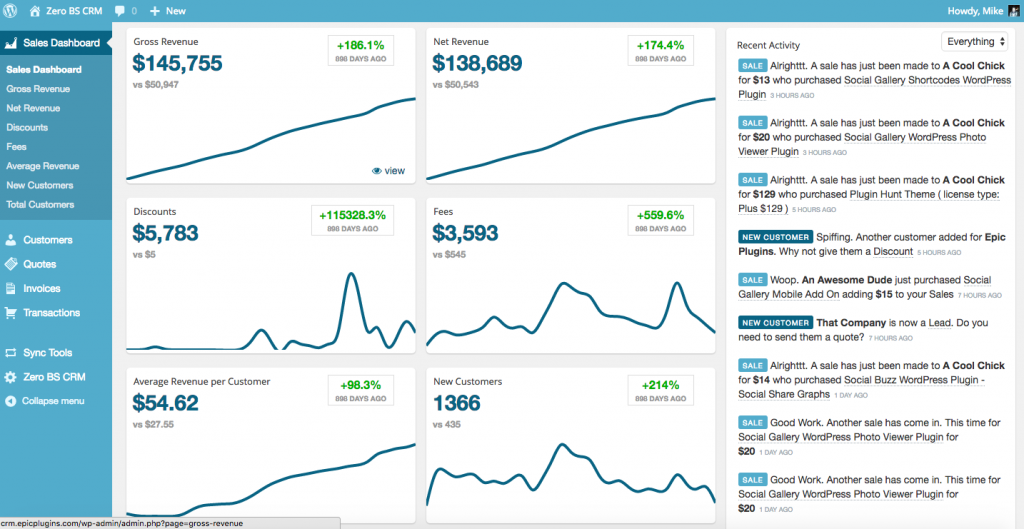 One dashboard to rule them all