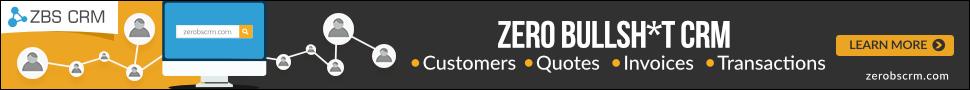 Zero BS CRM