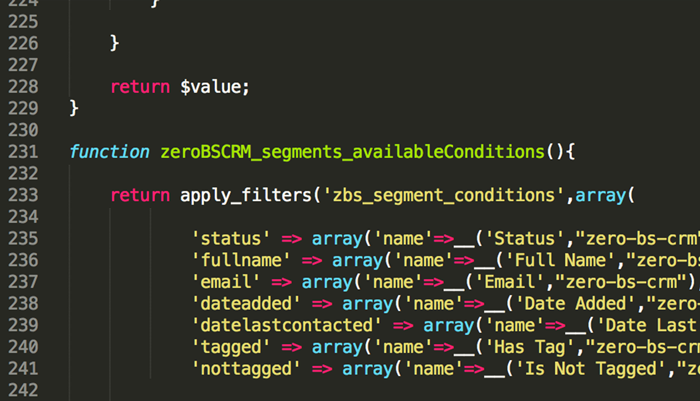 Part of the CRM Eco-system (Developer Support)