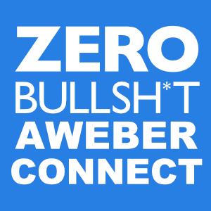 Zero BS CRM: AWeber Connect