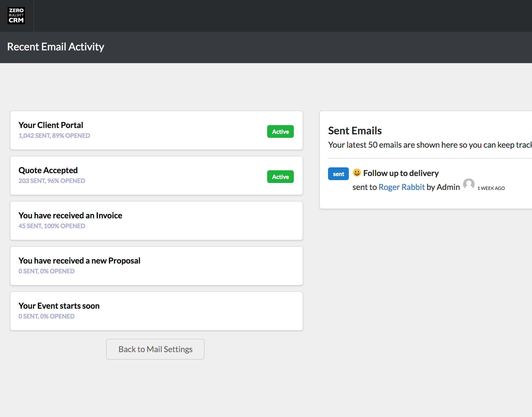 See if your crm emails are actually being opened - open and click tracking for crm emails