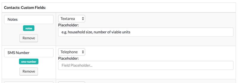 Custom Fields editor in ZBS