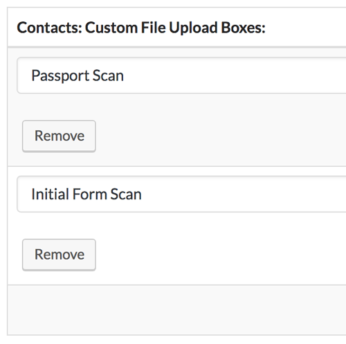 File slots let you require certain files from clients