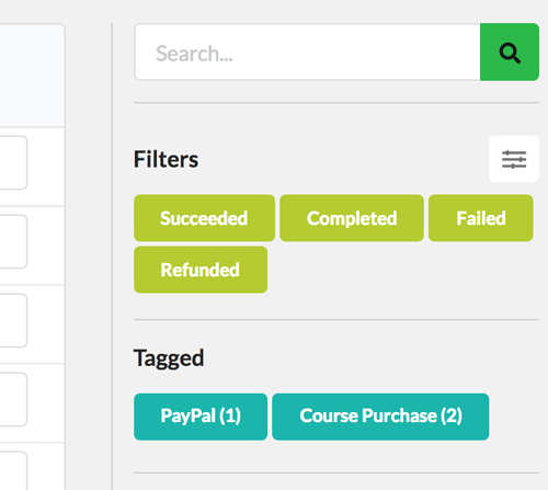 Quick Filters for Contacts in Zero BS CRM